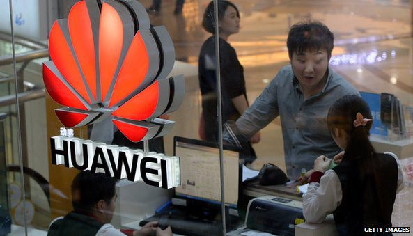 Huawei's growth has been helped by strong demand for smartphones in ChinaHuawei's growth has been helped by strong demand for smartphones in China