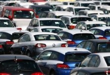 European Union car sales in April rose 4.6% compared to a year earlier ?