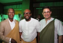 Director Security, Etisalat Nigeria, Muhammad Abubakar; Head, Sales Support, Etisalat, Victor Nwaobia and Acting CEO, Etisalat Nigeria, Matthew Willsher