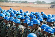 Over two hundred Nepalese peacekeepers arrive in Juba from the UN Stabilization Mission in Haiti (MINUSTAH), to reinforce the military component of the UN Mission in South Sudan (UNMISS). UN Photo/Isaac Billy