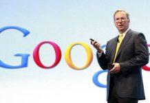 Google chief executive Eric Schmidt ?