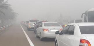 Abu Dhabi Police Urges Drivers to Be Cautious and Reduce Speed during Fog