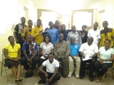 Group photograph of participants at the workshop