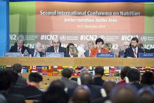 Second International Conference on Nutrition in Rome
