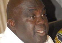 Julius Debrah, Minister for Local Government & Rural Development.