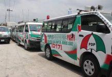 Jonathan's Campaign Buses