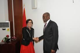 spain ambasador with vice prez