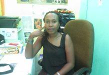 Nibagwire in her home-based office in Kiyovu