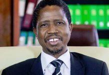 Zambian President Edgar Lungu