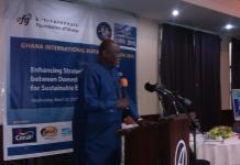 Dr Ekow Spio Gabrah, Minister of Trade and Industry