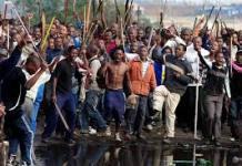 Xenophobic attack in SA