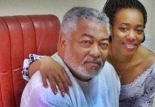 Dr. Jerry John Rawlings and daughter Dr. Ezenator Rawlings