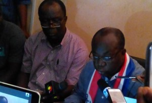 First Vice Chairman of the NPP, Mr Freddie Blay