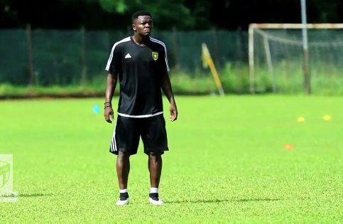 Sulley Muntari training with Ittihad Jeddah