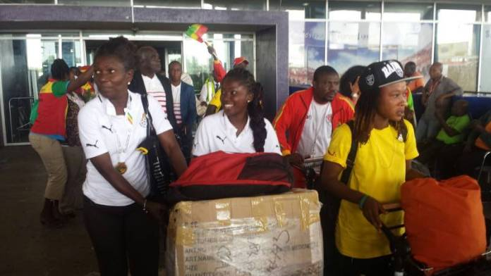 Black Queens won gold at the 2015 All Africa Games