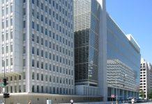 World Bank building at Washington