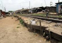 Nsawam-Accra railway