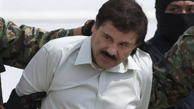 Joaquin Guzman was captured in 2014 but escaped from prison in July