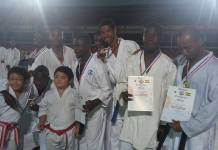 Some of the medal winners