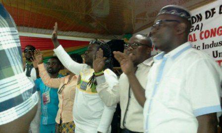 Bice Osei Kufuor (Obour) and pther elected MUSIGA executives