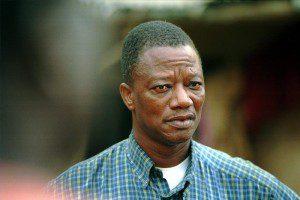 Gregoire Ahongbonon of Benin, winner of the Daily Trust 2015 Award