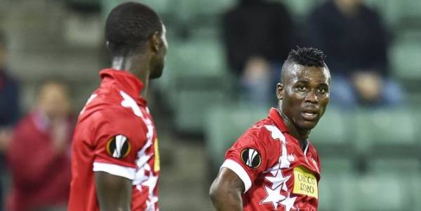 Ebenezer Assfifuah scored the second goal for FC Sion in Switzerland
