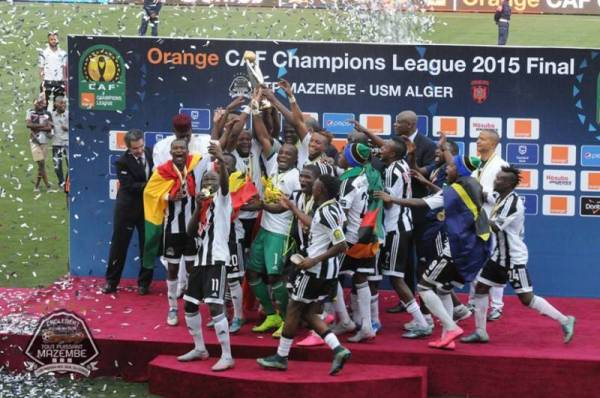 Five Ghanaian players jubilated CAF Champions League title success