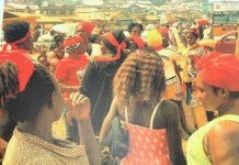 Affected miners demonstrate and ask for justice