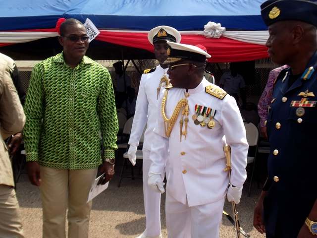 former Chief of Defence Staff (CDS), Vice Admiral Matthew Quashie
