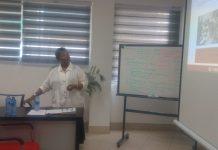 Dr Guitele Nicoleau making a presentation.jpg20880