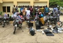 donation of motorbikes