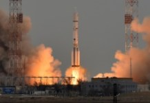 AFP/File / Kirill Kudryavtsev A Russian Proton-M rocket carrying the ExoMars 2016 spacecraft blasts off from the launch pad on March 14, 2016