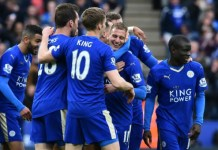 AFP/File / Ben Stansall Leicester will be champions of England for the first time in their 132-year history if they win at Manchester United on Sunday
