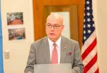 US Ambassador to Ghana, Mr Robert Jackson
