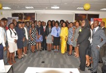 Group picture of HR Practitioners at the forum