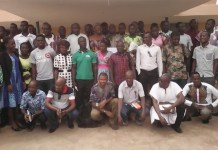 Members of the CSOs in group picture after the stakeholders forum