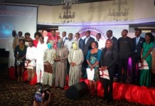 Group picture of awardees
