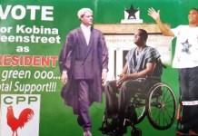 Mr Ivor Kobina Greenstreet, CPP Election 2016 Presidential Nominee