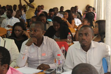 Cross section of Customs Agents in the training
