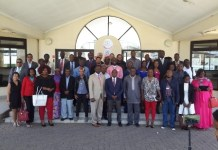 Justice Ben Kioko AfCHPR Vice President, Dr Robert Eno, Registrar and Senior Editors and Journalists at the African Court of Human and Peoples' Right, Arusha, Tanzania By Francis Ameyibor, GNA Correspondent, Arusha Tanzania