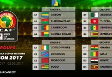 2017 AFCON draw