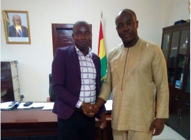 Ghana Armwrestling Federation Prez