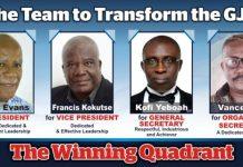 The Team to Transform the GJA