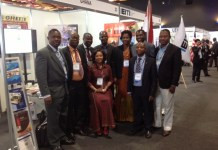 The Delegation of Ghana to the EITI Conference in Peru