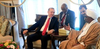 Sudan and Turkey Presidents hold meeting
