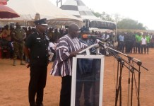 Vice President Mahamudu Bawumia addressing the Paari Gbiele Festival of the chiefs and people of the Tumu Traditional Area.