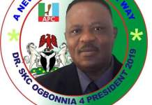SKC Ogbonnia for President