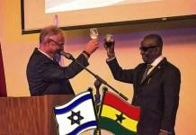 Ghana-Israel toast