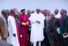 Northern pastors on visit to Buhari