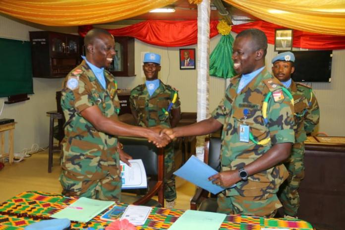 UNMISS Ghanbatt 6 Takes Over Command In South Sudan